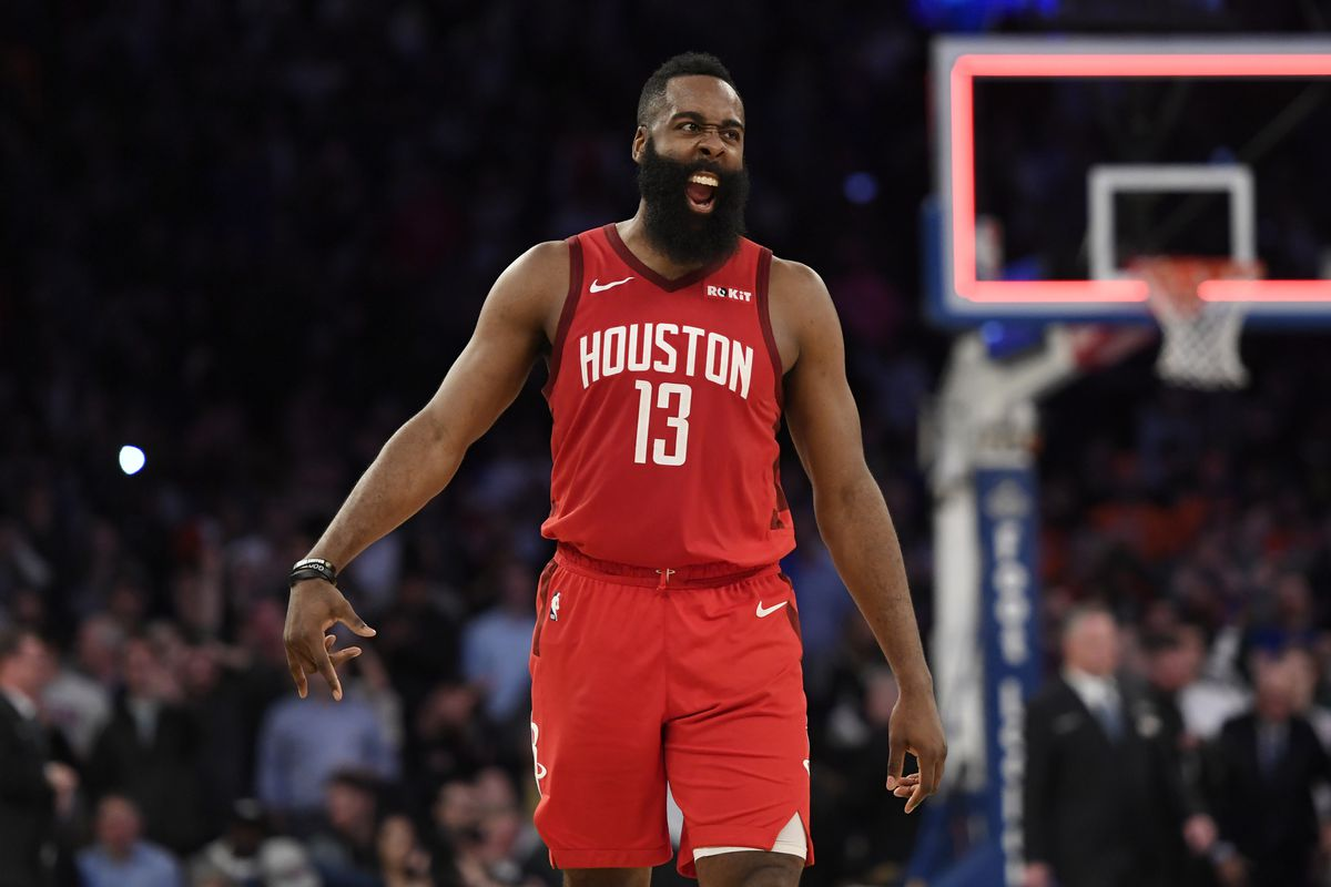 0a269374c0c4 Rockets edge Knicks behind James Harden s 61 points - The Dream Shake