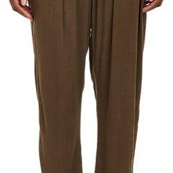 """Raquel Allegra Easy pants, <a href=""""http://www.barneys.com/raquel-allegra-easy-pants-503471871.html#prefn1=onSale&sz=48&start=141&prefv1=Sale"""">$69</a> (from $285)"""