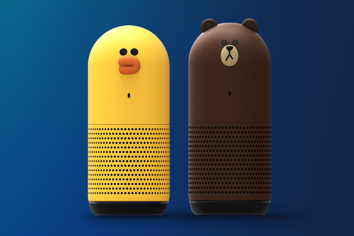 Japan's answer to the Amazon Echo comes in 'bear' or