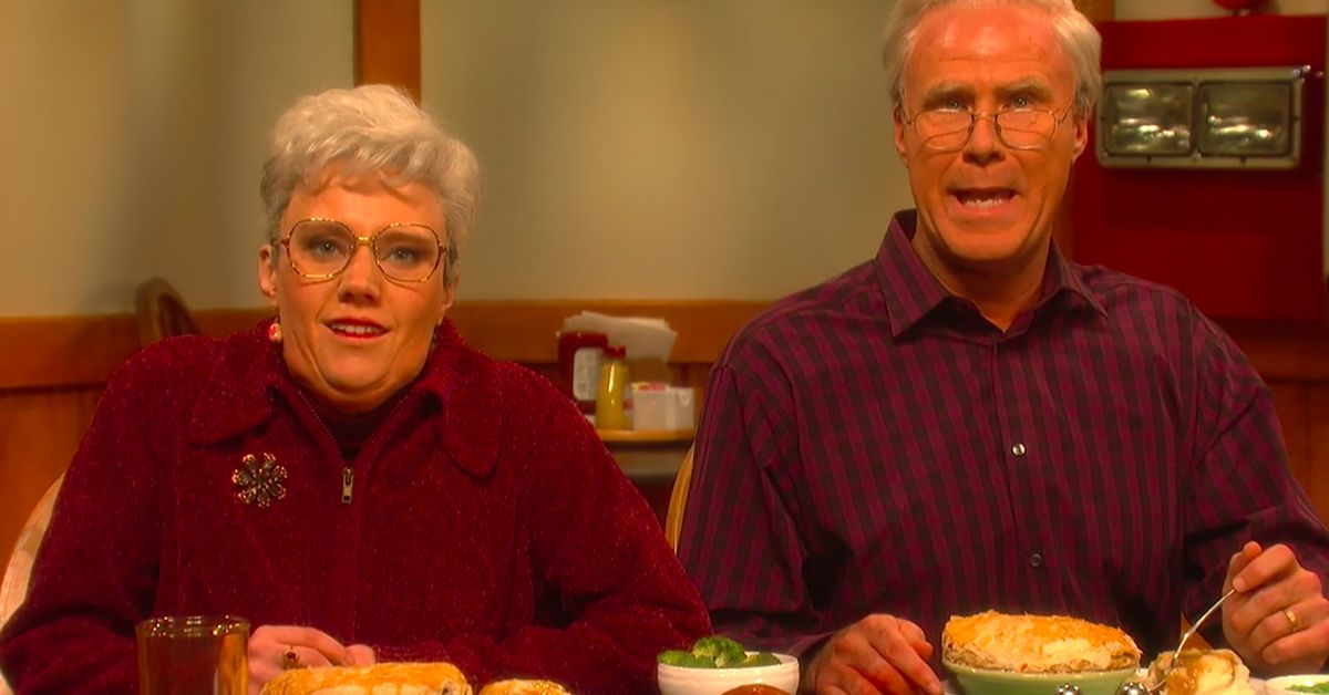 Snls Chicken Pot Pie Commercial With Will Ferrell And Kate Mckinnon