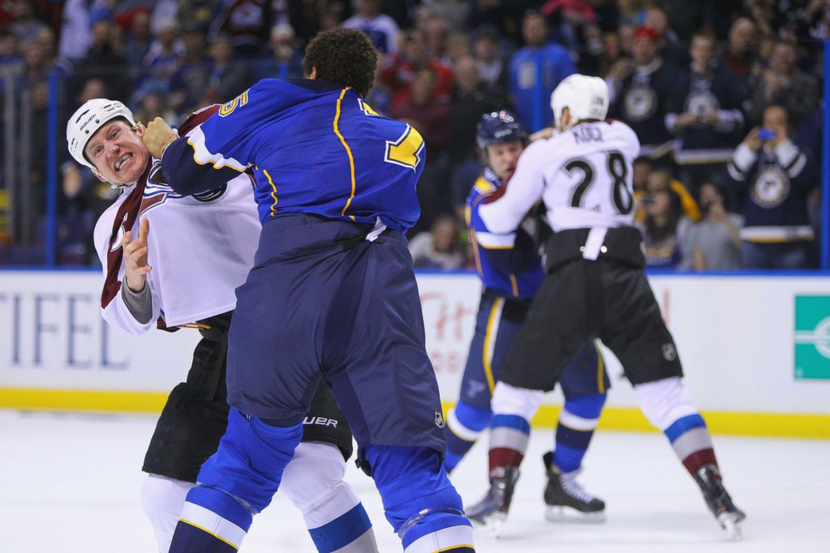 Two-for-one specials at the DrinkScotch. Also, reports of Ryan Reaves moving to Eureka are unconfirmed.   (Photo by Dilip Vishwanat/Getty Images)