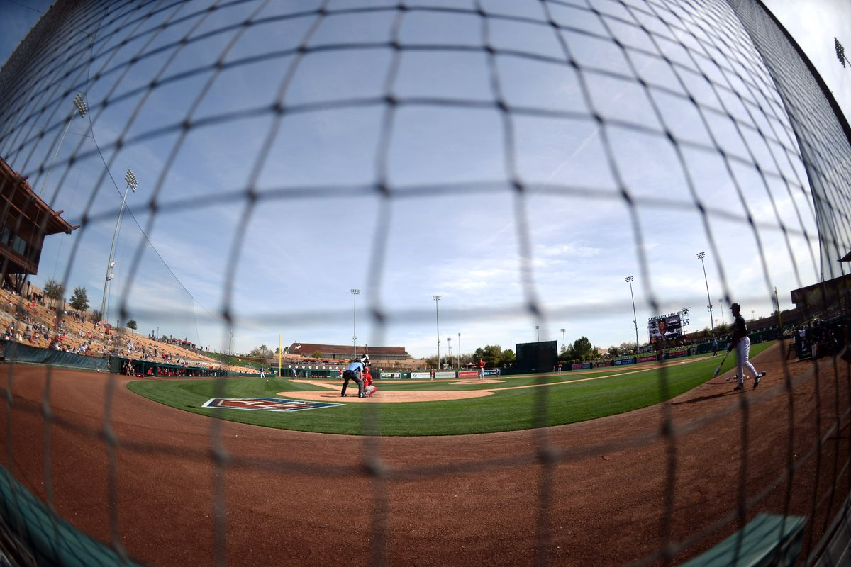 MLB: Spring Training-Los Angeles Angels at Chicago White Sox