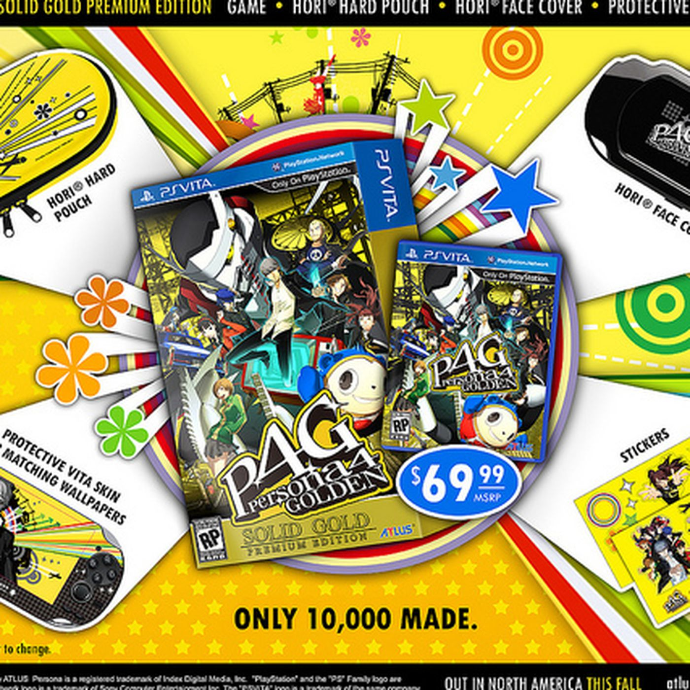 Limited 'Persona 4 Golden: Solid Gold Premium Edition