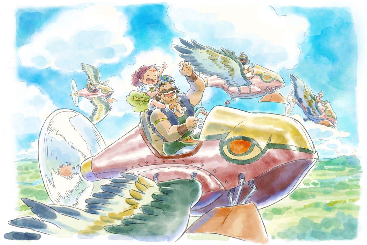 The Gorgeous Studio Ghibli Style Art Of Ni No Kuni Ii The Verge
