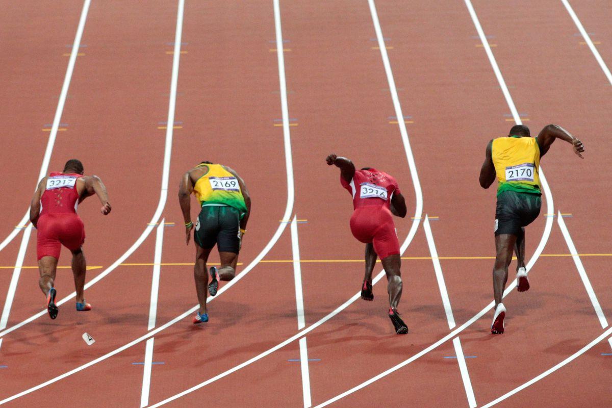Yohan Blake Wins 100m, Usain Bolt Captures 200m At Diamond ...