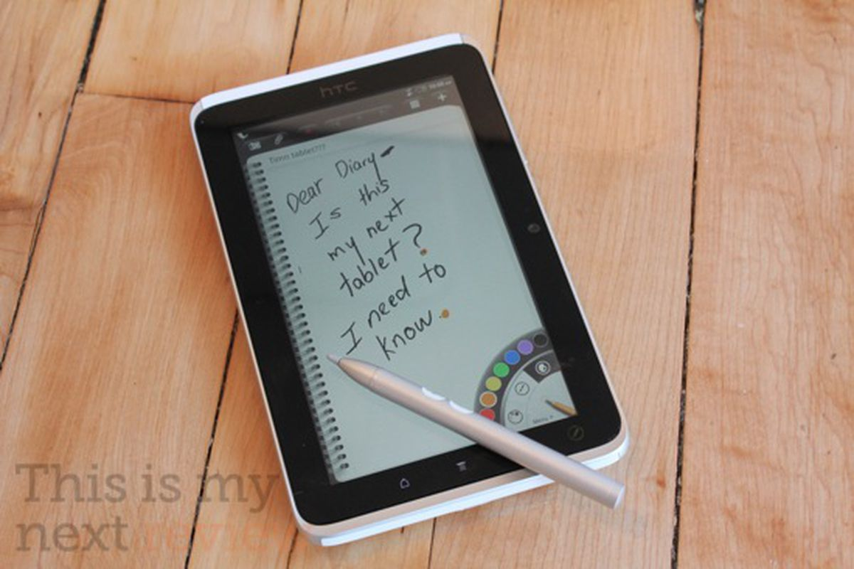 HTC Flyer review main