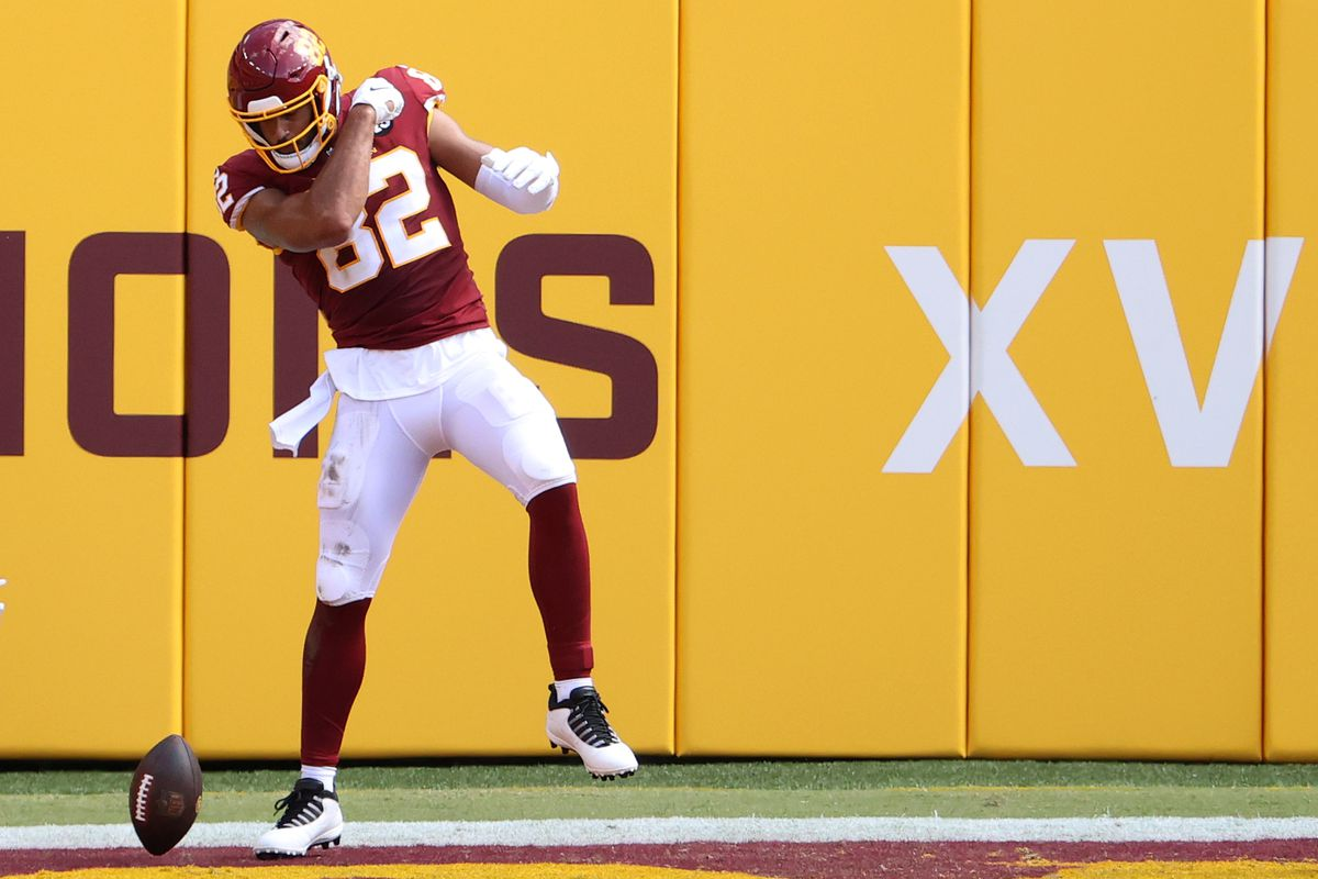 Fantasy football start/sit advice, Week 2: What to do with Logan Thomas vs.  Cardinals - DraftKings Nation