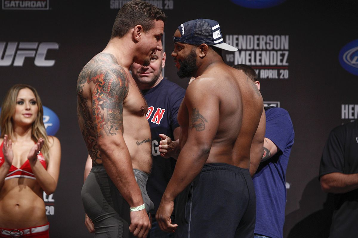 frank mir daniel cormier is really not much of a