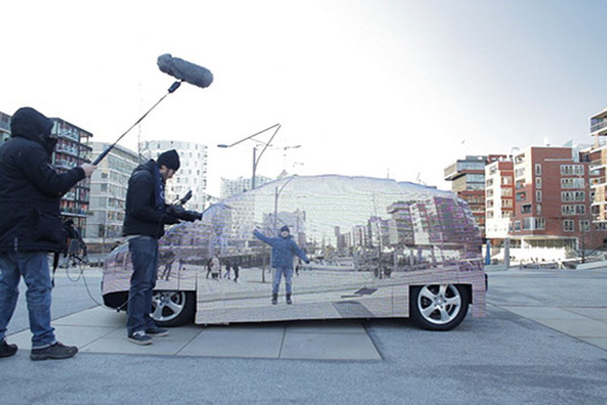 Mercedes F-Cell car