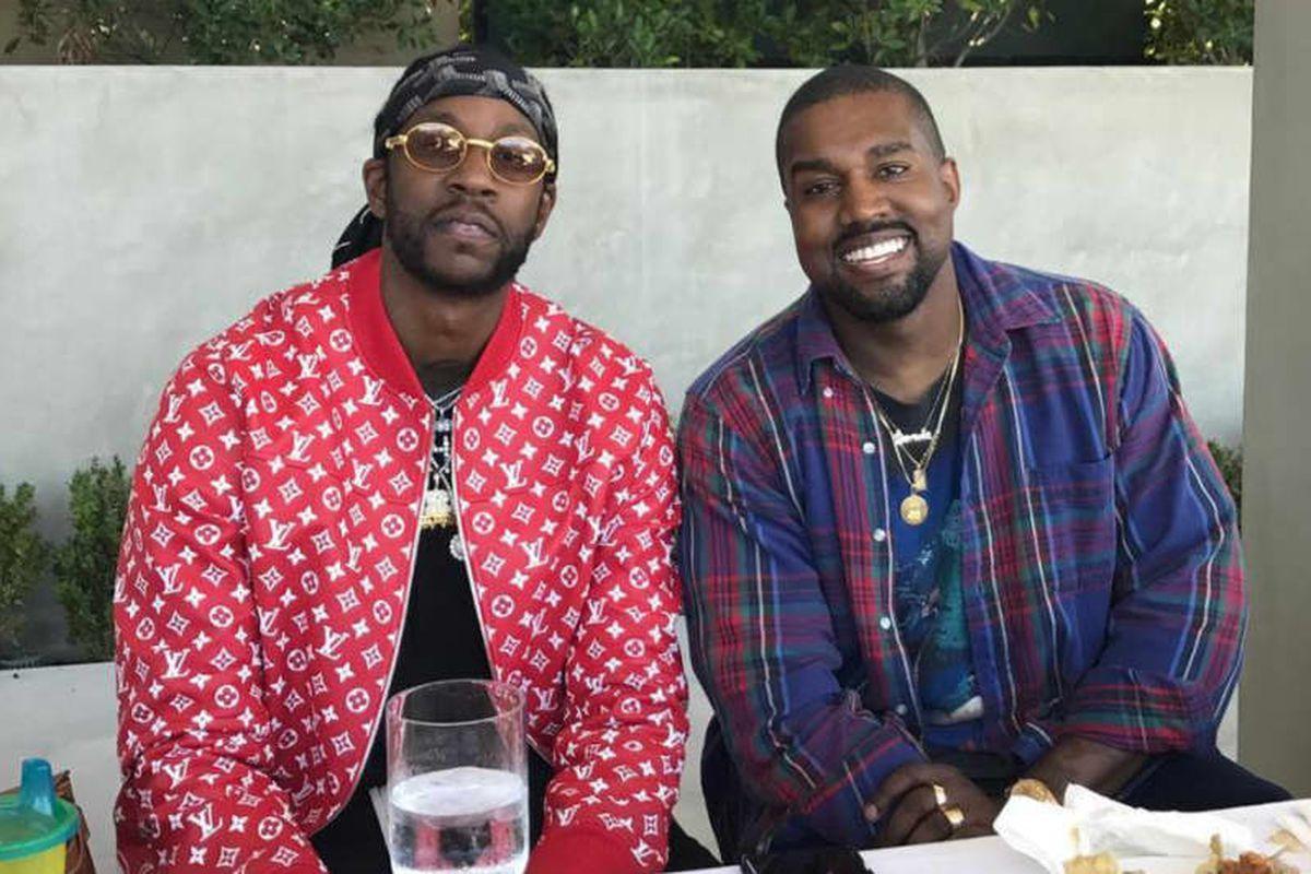 2 Chainz, Kanye West