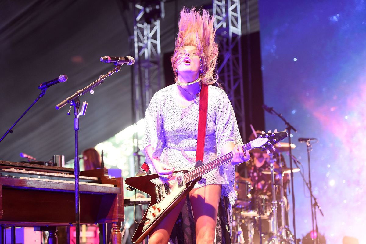 Grace Potter and the Nocturnals perform onstage at the 2016 Panorama NYC Festival in 2016 in New York City.