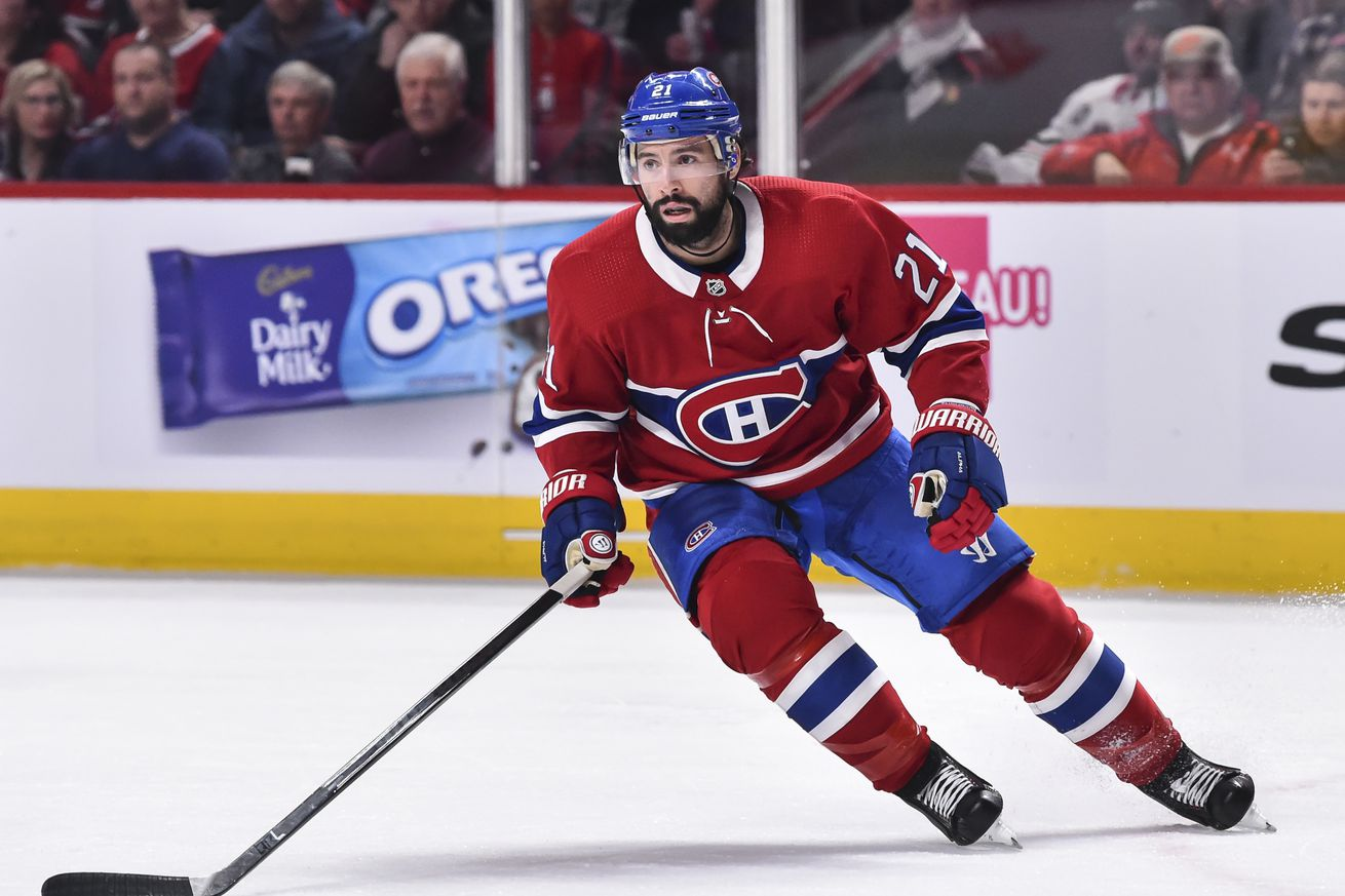 Canadiens re-sign Nate Thompson to one-year contract