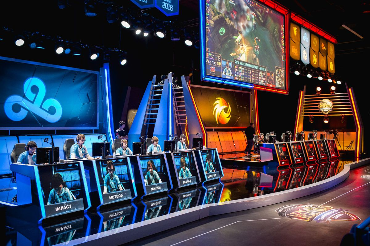 'League of Legends' Championship Series in Los Angeles (RiotGames)