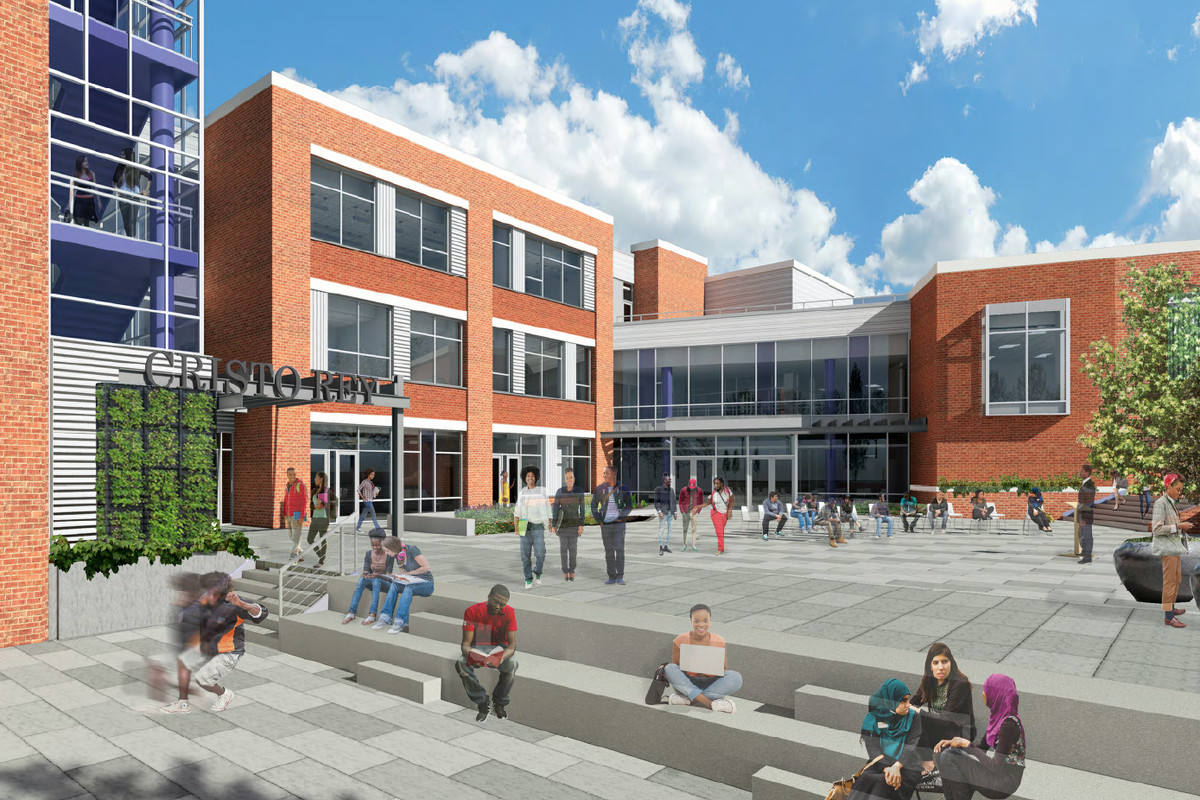 Cristo Rey High School wraps up $40M North Philly campus - Curbed Philly