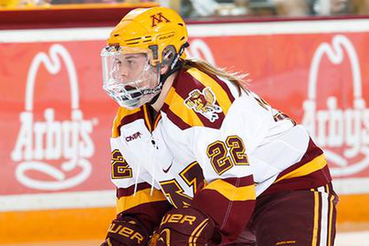 Hannah Brandt was the unanimous preseaosn pick for WCHA Player of the Year