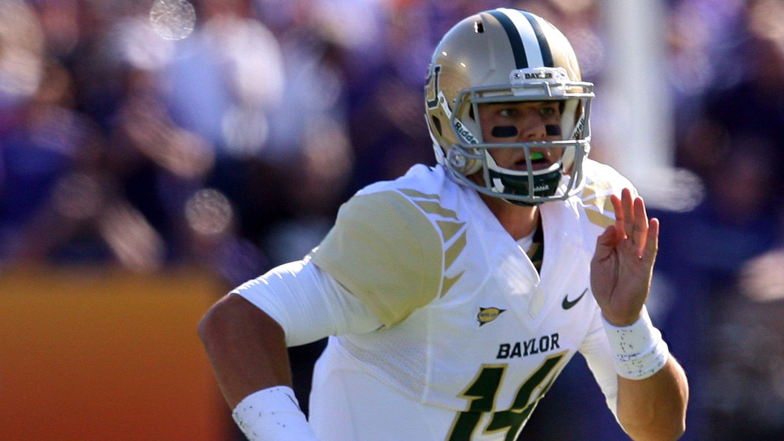 Baylor Announces Gold-White-Gold Uniform for Saturday ...