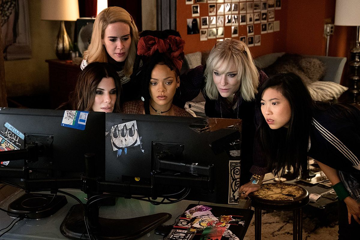 Ocean's 8 review: an all-star cast makes up for a lot of