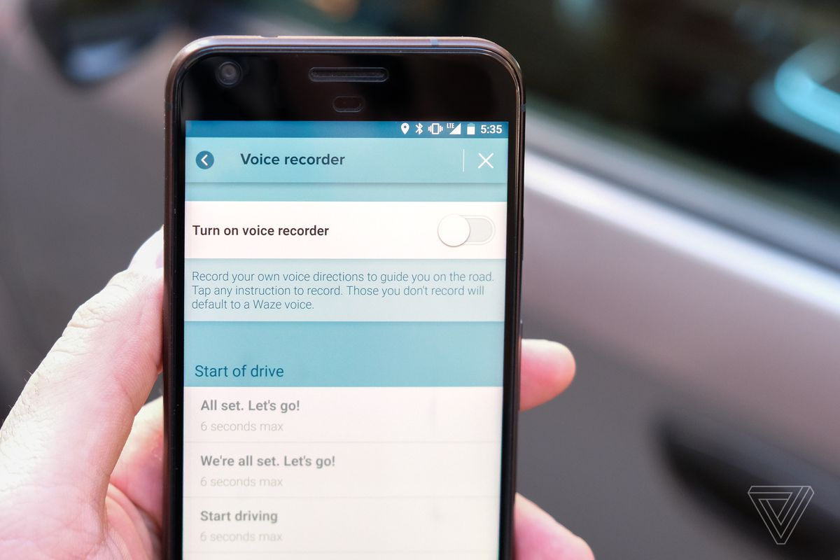 Waze Now Lets You Record Your Own Turn By Turn Audio The Verge