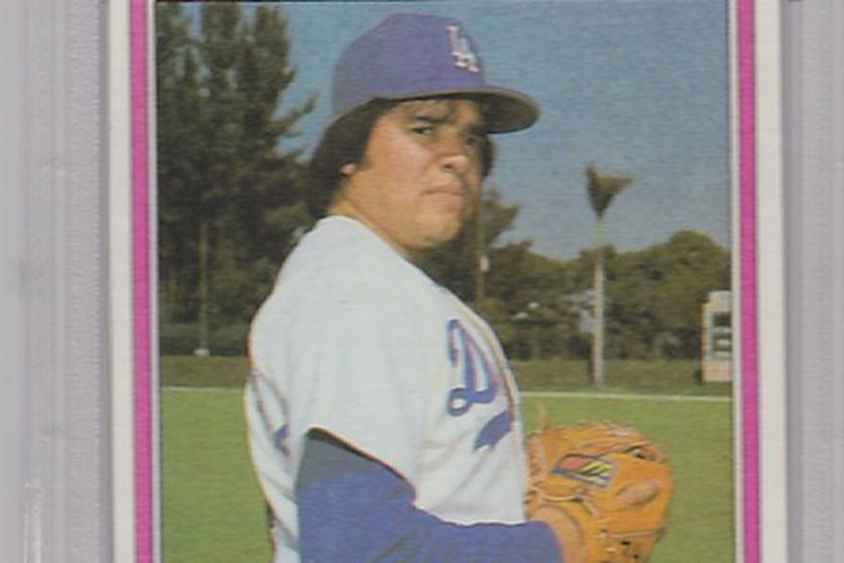 1981 Topps Traded Fernando Valenzuela was number one on Delias Man's list.