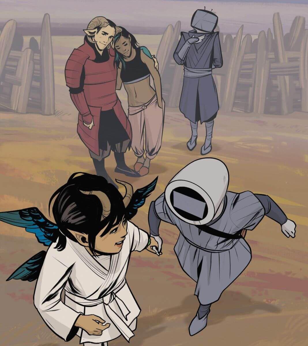 From Saga, Image Comics.