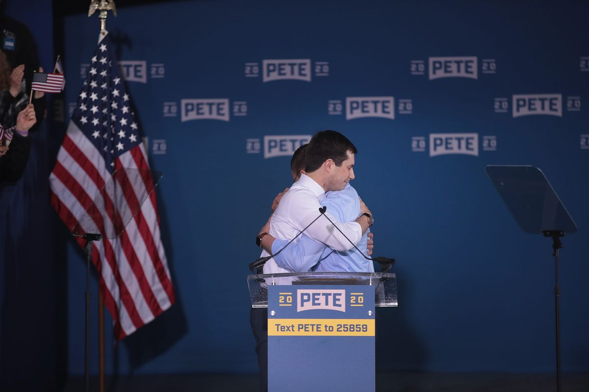 Image result for pete buttigieg
