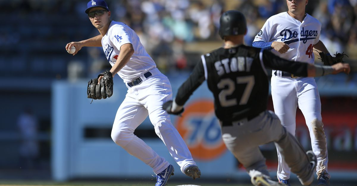 Dodgers 8 , Rockies 2 : Kershaw strikes out 12 , shuts down Rockies