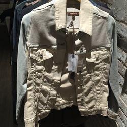 Denim jacket, $60 (was $242)