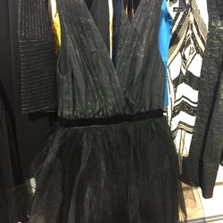 Tulle dress, size 6, $210 (from $689)