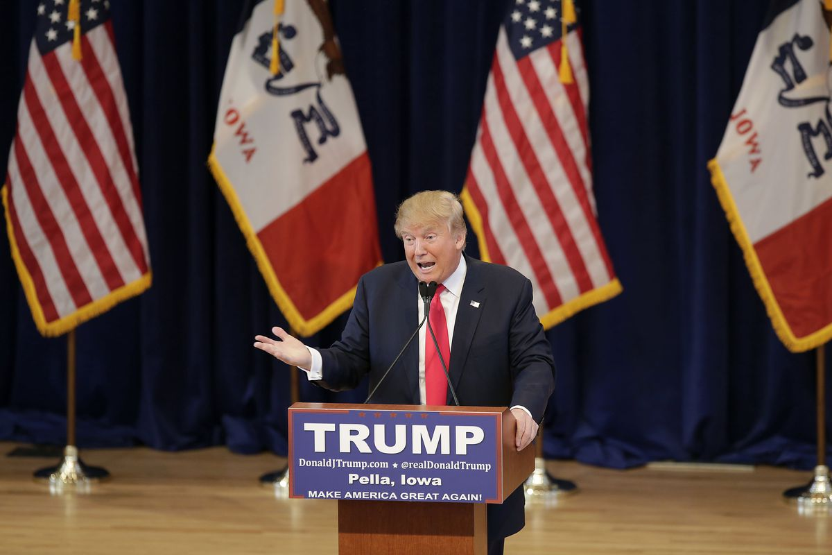 Republican presidential candidate Donald Trump told an Iowa crowd he would be a different, calmer man as president.