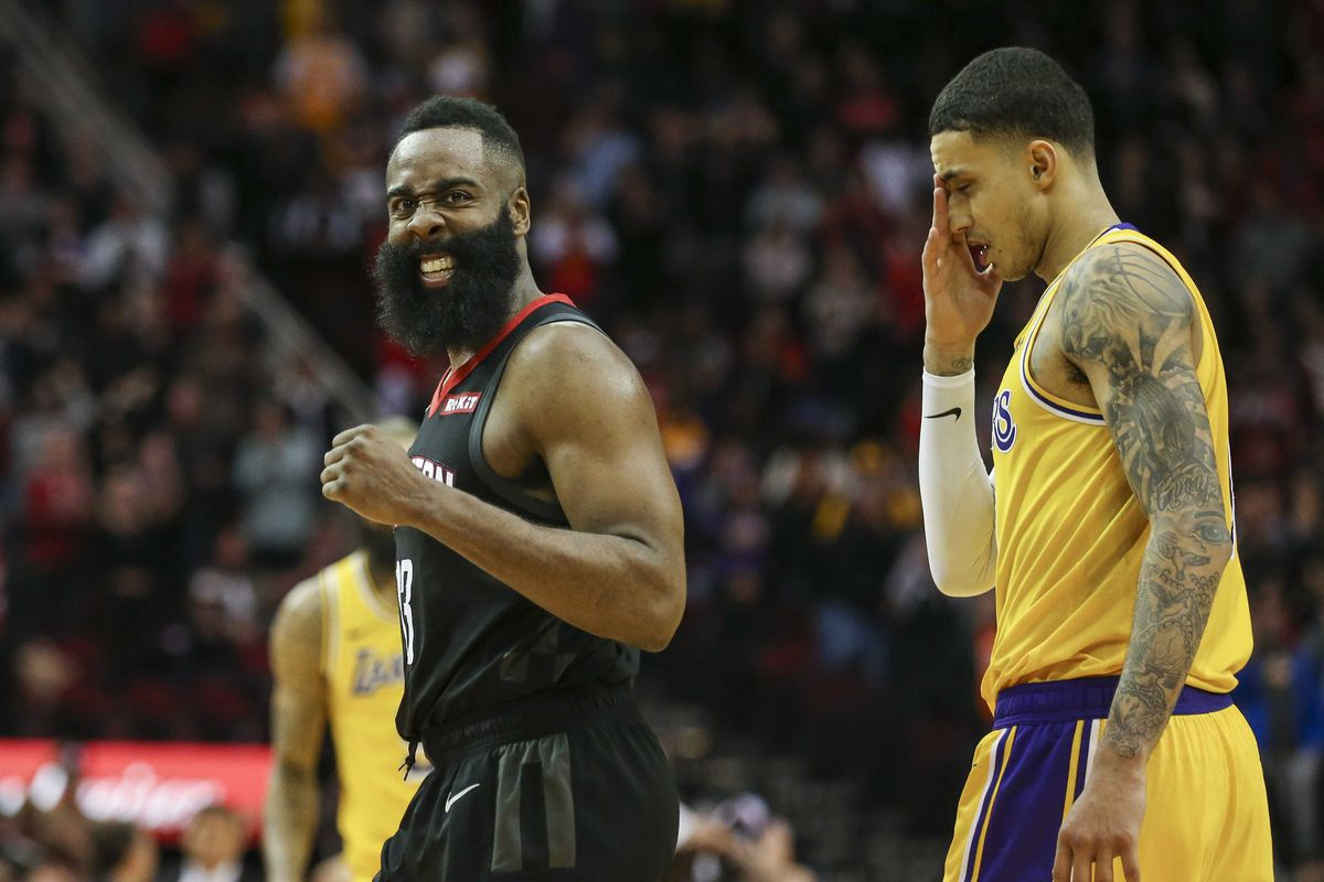 7363c9779b64 Lakers vs. Rockets score  What an amazing opening to NBA s Saturday ...