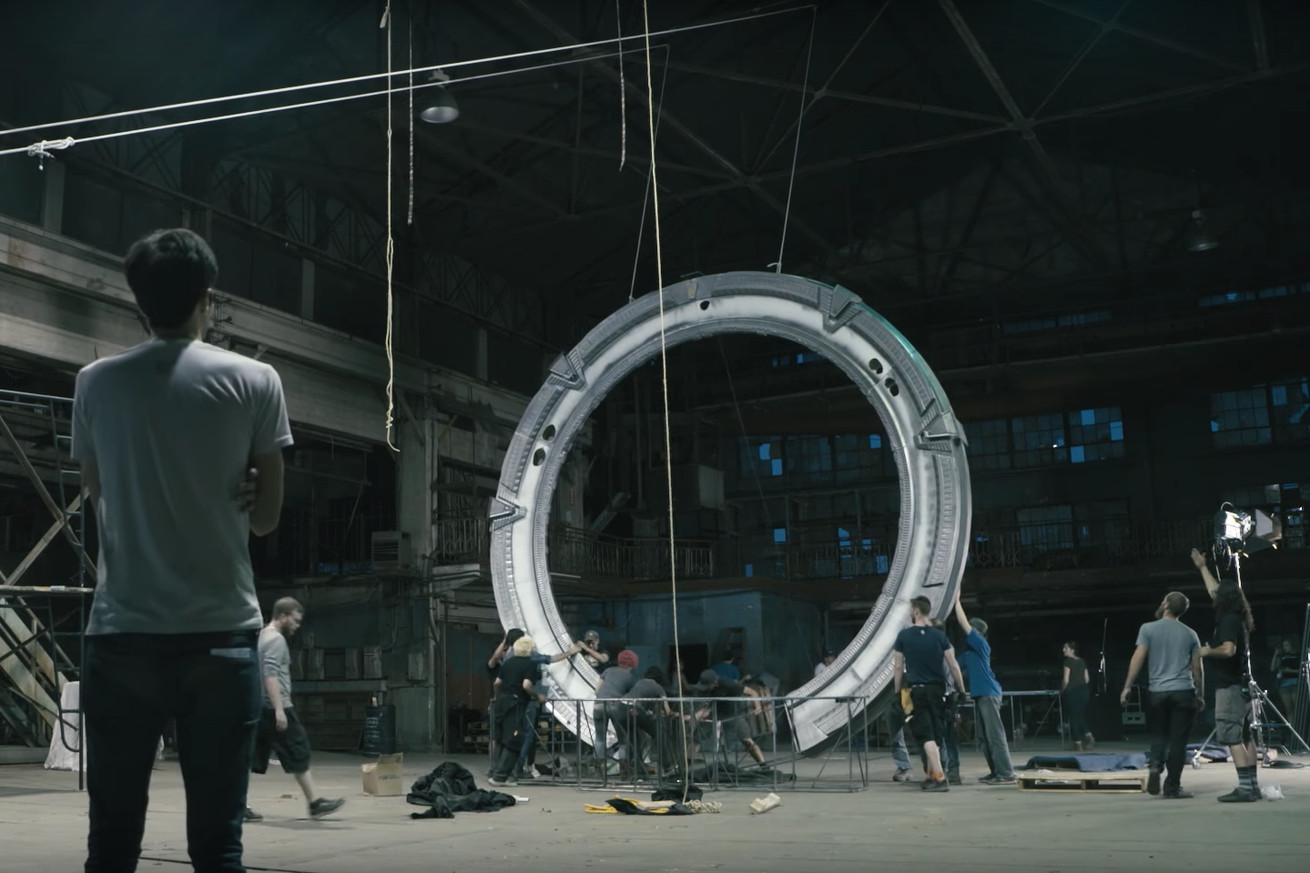 mgm has released a new behind the scenes featurette for stargate origins