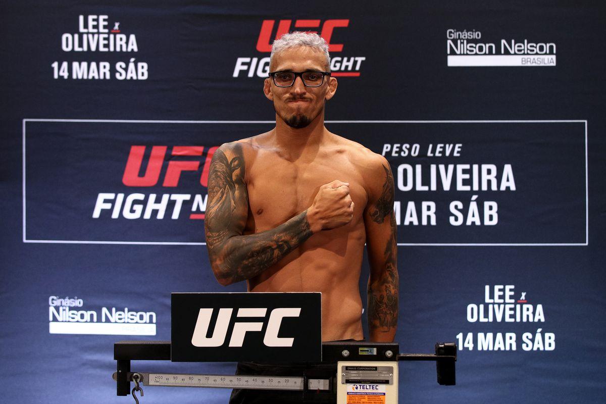 UFC Fight Night Lee v Oliveira: Weigh-Ins