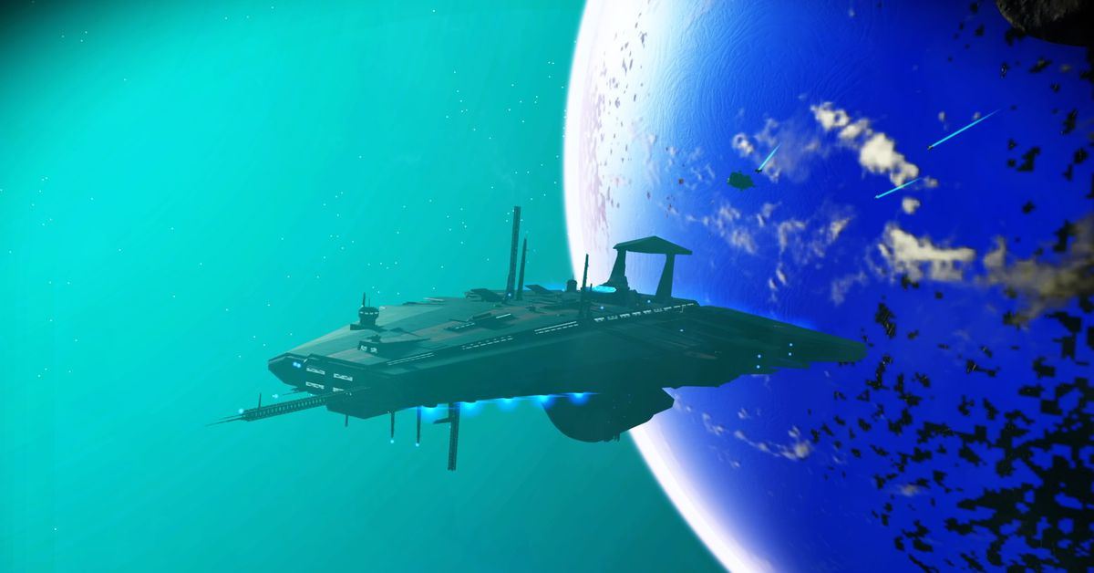 Can I Travel In A Freighter In No Man S Sky
