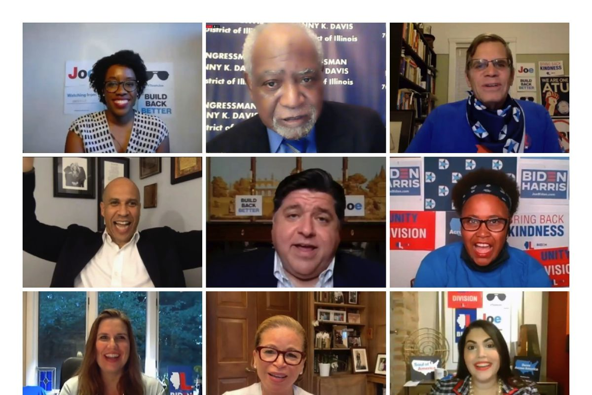 The Illinois Delegation holds a virtual program Thursday ahead of the final night of the Democratic National Convention.