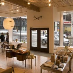 """<b><a href=""""https://canoeonline.net/"""">Canoe</a>, Portland</b><br /> Portland's got any number of cool shops—Standup Comedy, Frances May, Alder & Co.—but my favorite is design store Canoe, where I go to find items for the home aren't the same pieces"""