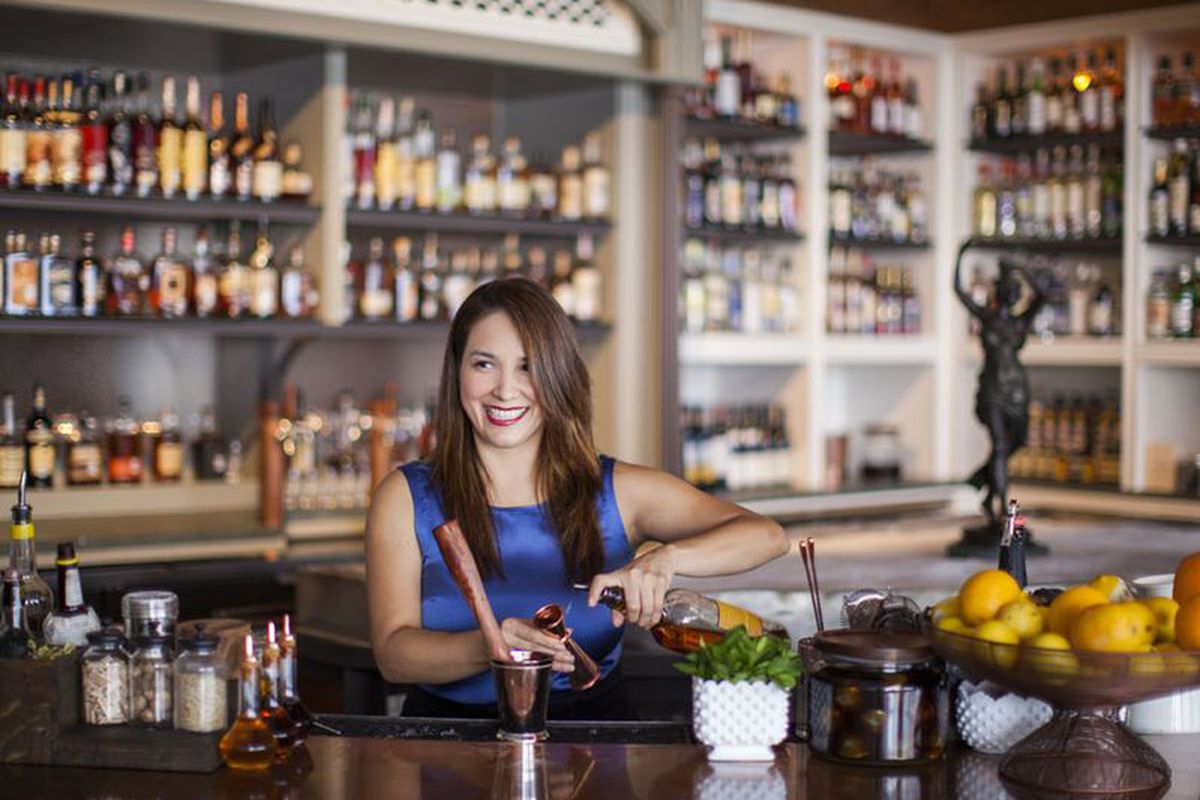 Alba Huerta continues to set the cocktail world on fire in 2015.