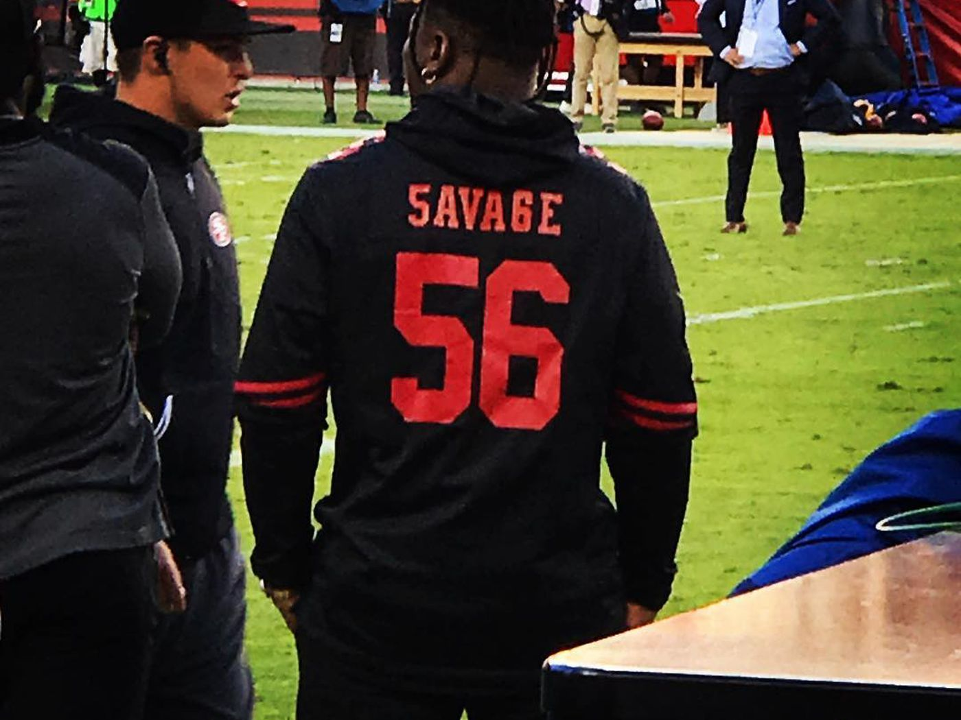 Reuben Foster had the best jersey of Rams-49ers even if he didn't ...