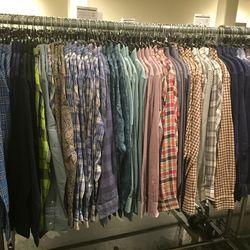 Men's woven shirts, $59 (were $225)