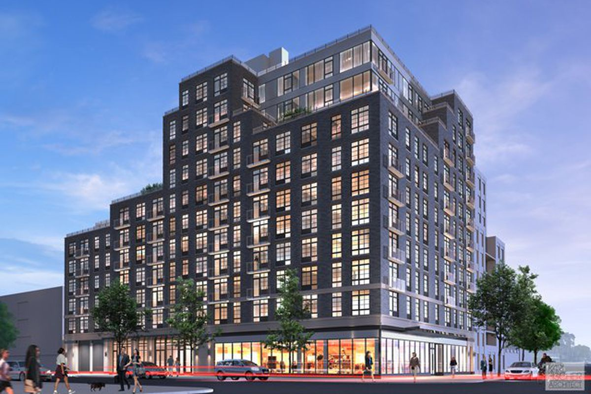 In harlem two new buildings offer up affordable for Affordable building