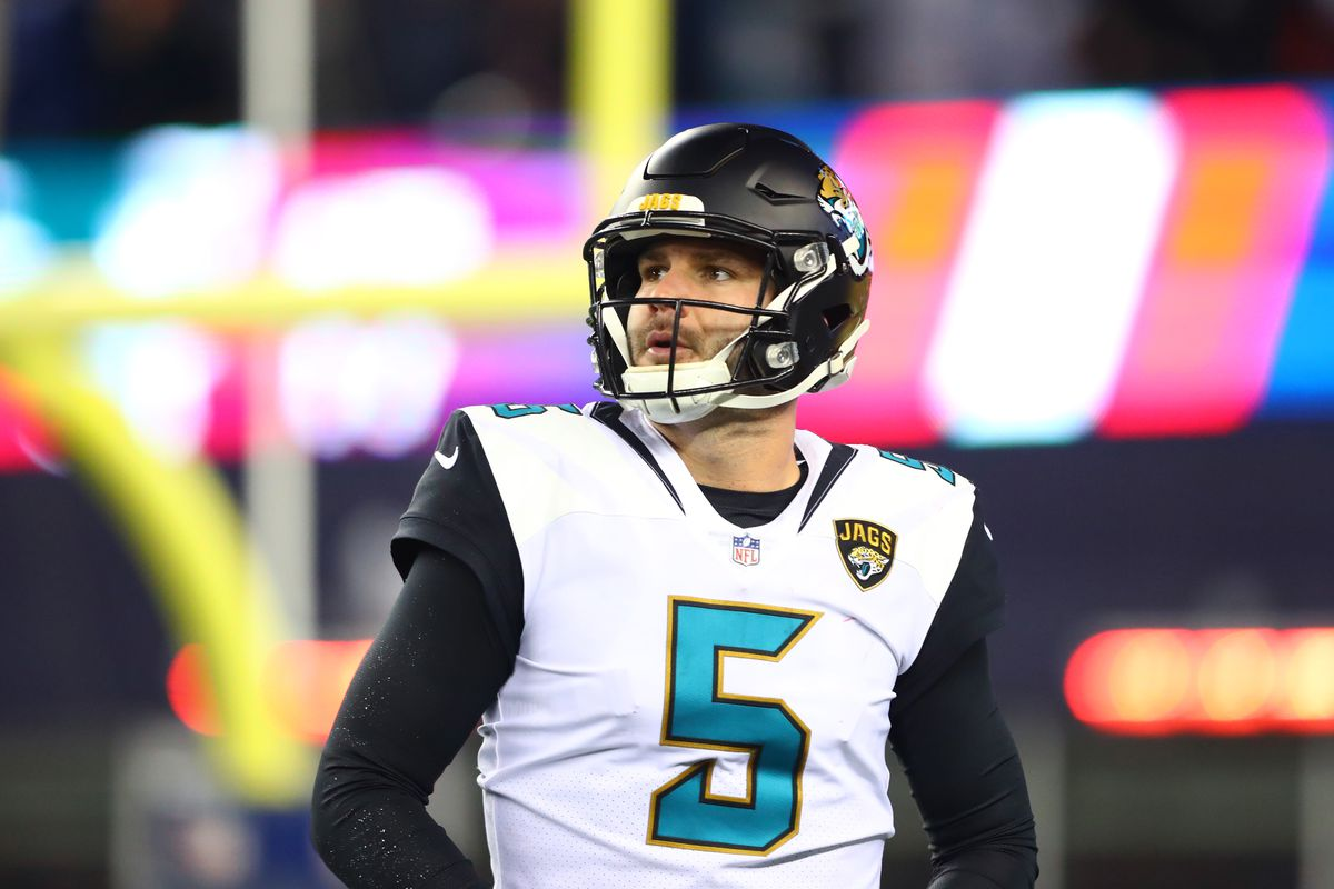 Jacksonville Jaguars sign QB Blake Bortles on three-year deal worth $54m