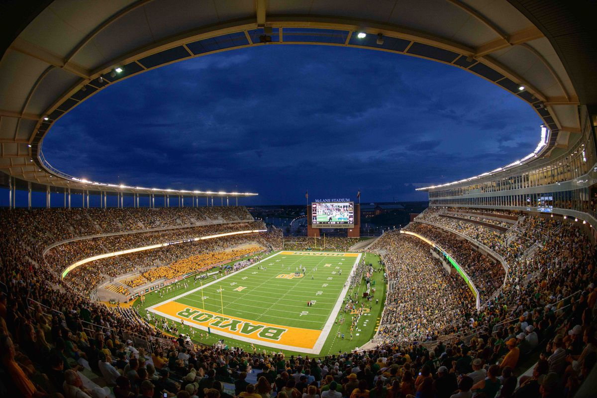 Baylor's brand new McLane Stadium hosts a quietly underrated game this weekend.
