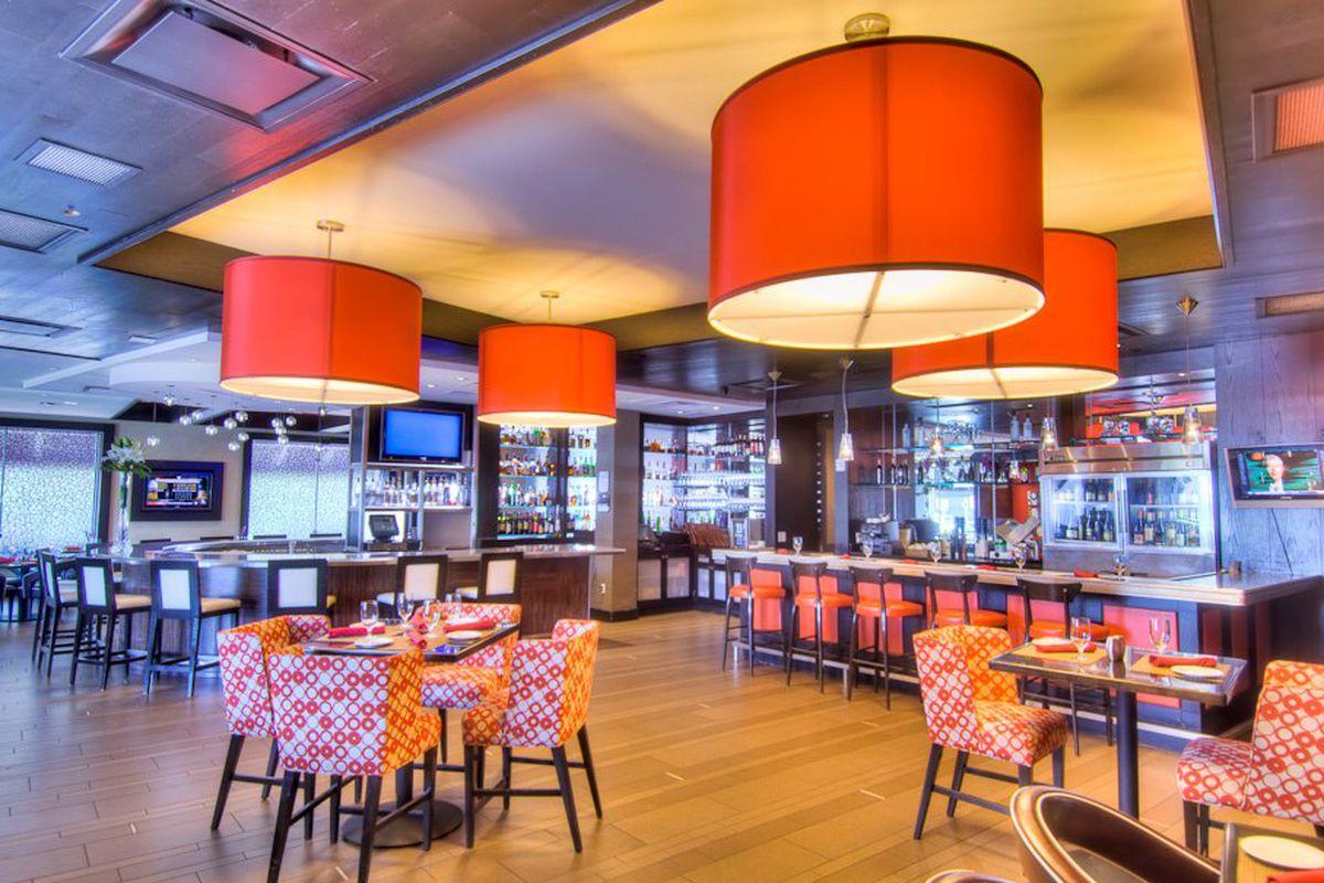 Valentino Vin Bar at the Hotel Derek