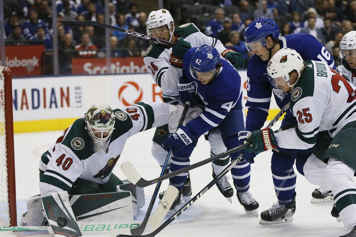 NHL: Minnesota Wild at Toronto Maple Leafs
