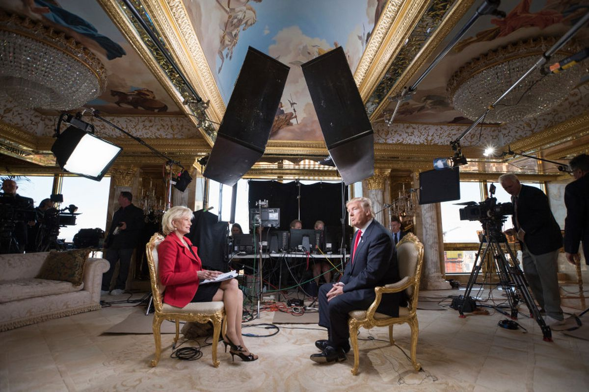 """President-elect Donald Trump on """"60 Minutes"""""""