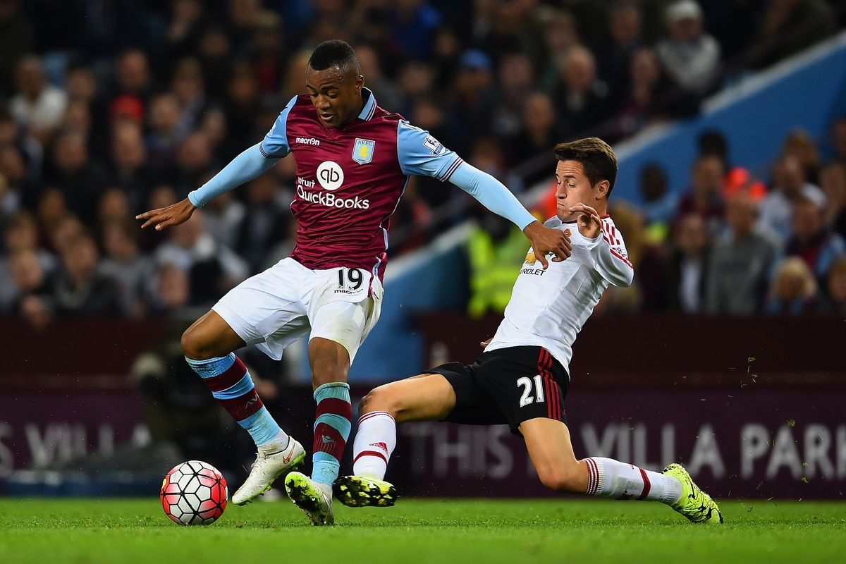 Manchester United could dump Aston Villa out of the Premier League this weekend.