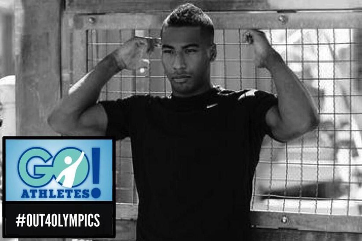 Olympic gymnastics hopeful Josh Dixon is #Out4Olympics