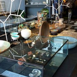 """Finally, end your day at local jewelry designer Serena Kojimoto's boutique, <a href=""""http://shopworkshop.com/"""">Workshop SK</a> (3129 1/2 Glendale Blvd). Pick up her handmade accoutrements, including delicate gold necklaces to pearl-adorned sterling silver"""