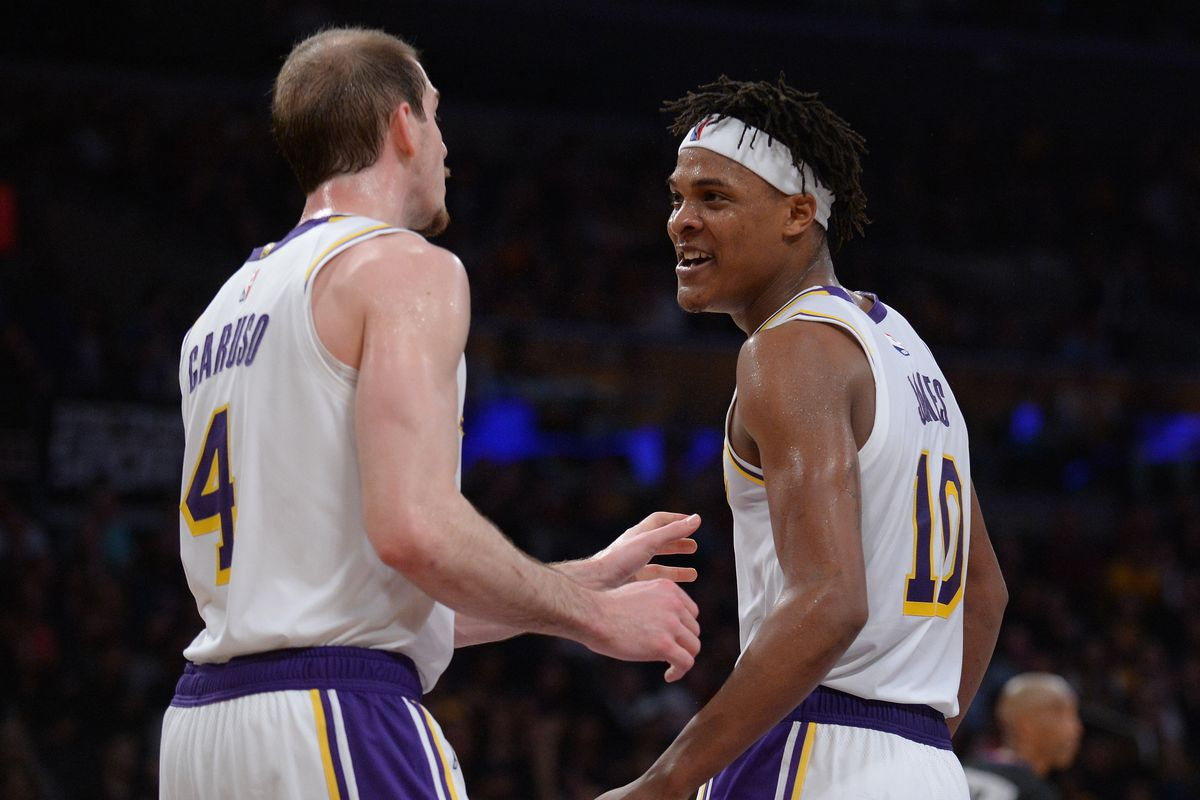 957a4ccf9bde Gary A. Vasquez-USA TODAY Sports. The Lakers signed Jemerrio Jones to a two-year  deal ...