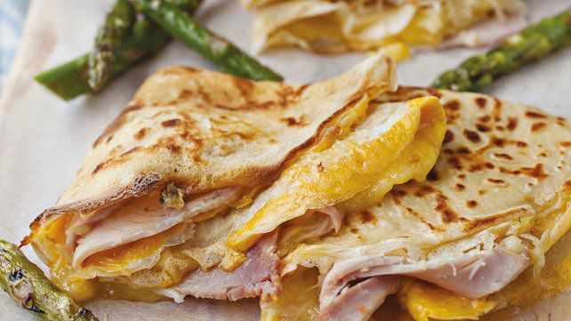 A ham and cheese crepe from the upcoming Petit Loulou.