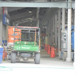 Inside the concourse at Gate K/J -